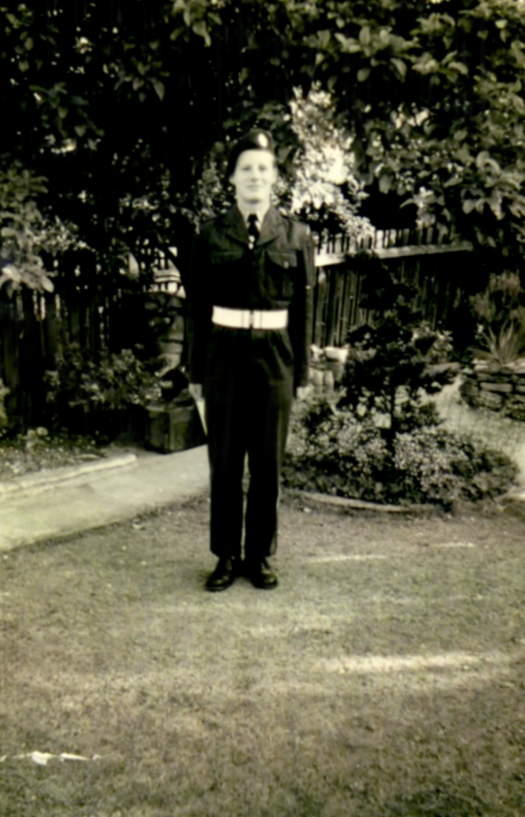 Me in CCF uniform c1955