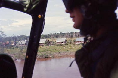 S55 low level river Borneo