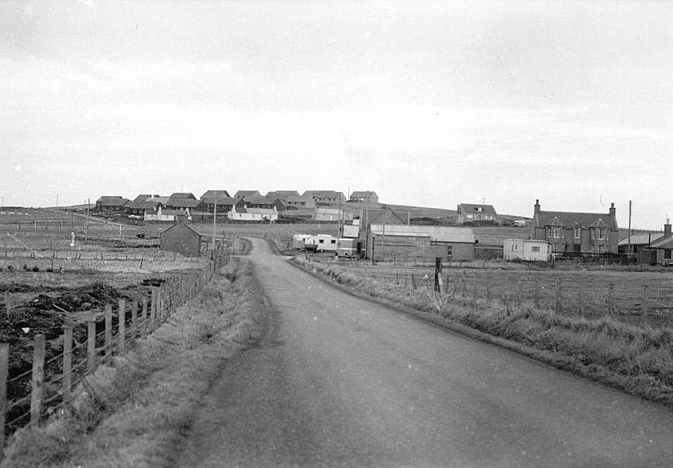 WOODEN COUNCIL HOUSES - SUMBURGH