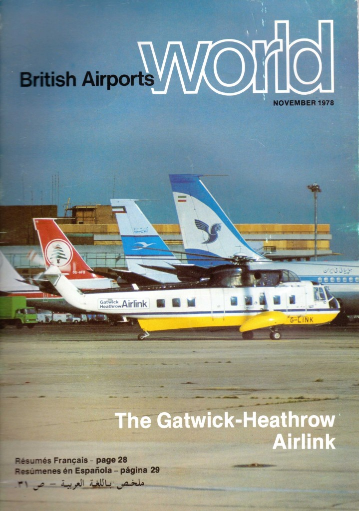 Front cover - British Airports World