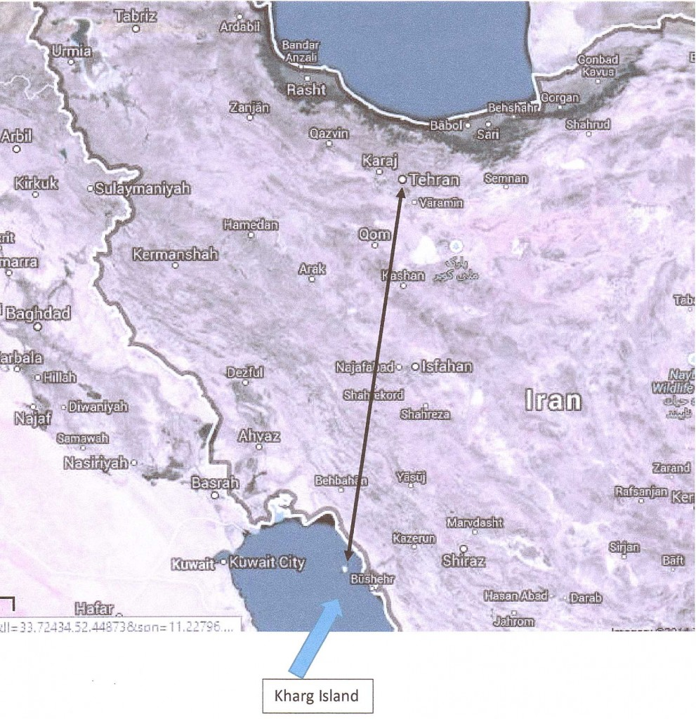 IRAN - TEHRAN~KHARG